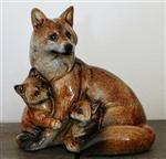 View details for this Red Wolf Family Figurine