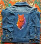 View details for this Spirit Wolf Jean Jacket JR S