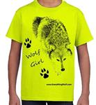 View details for this Wolf Girl Child's T Shirt - CL
