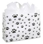 Large Paw Print Gift Bag