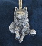 Watch Over You Wolf Necklace