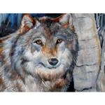 View details for this Winter Wolf Wall Art Canvas