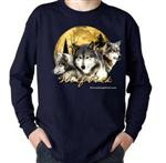 View details for this Wolf Pack Long Sleeve Childs t shirt - S