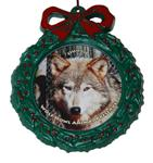 Wolf Wreath Ornament - Ohoyo