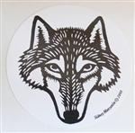 View details for this Wolf Sticker
